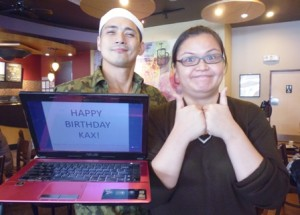 Robin Padilla Starbucks Birthday Greeting
