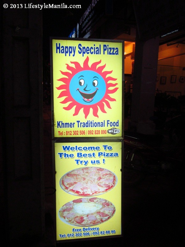Happy Special Pizza