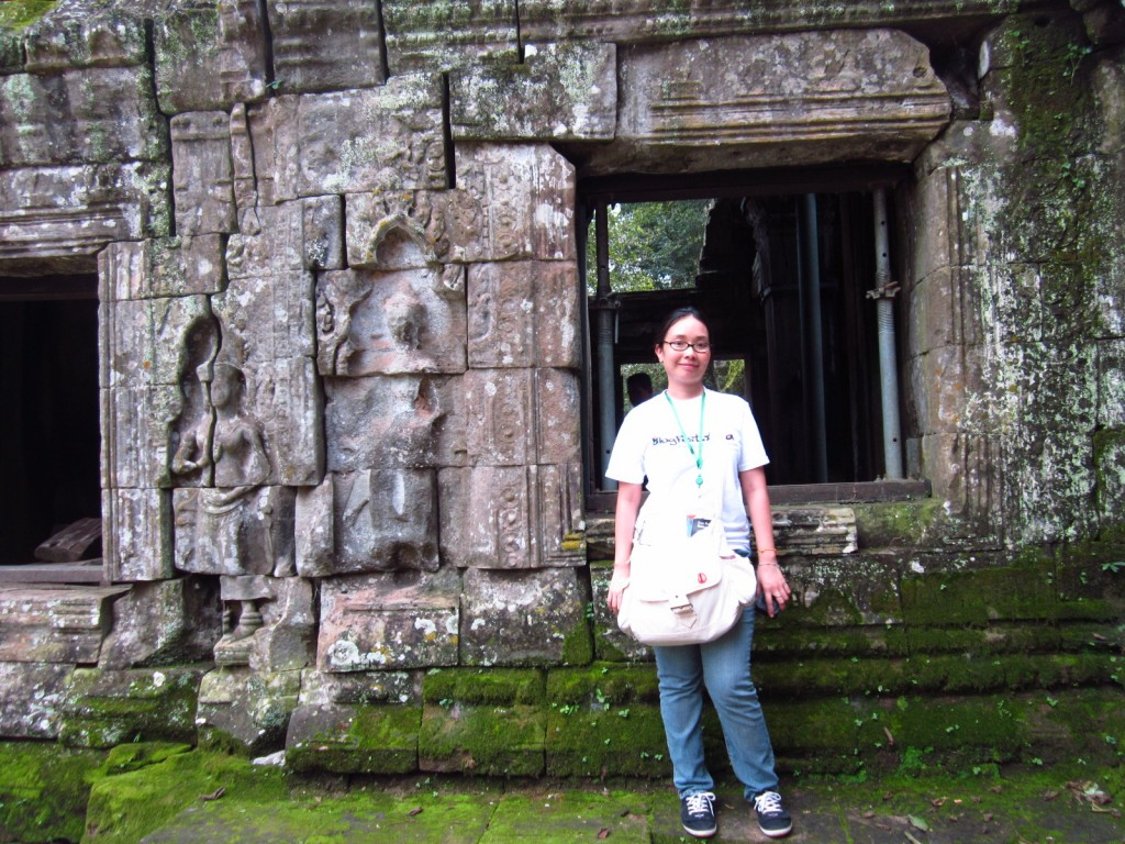 Me at Ta Prohm