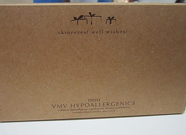 VMV Hypoallergenics Recycled Packaging