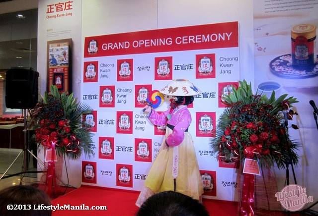 Korean Red Ginseng Grand Opening