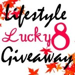Lucky 8 Entry Button - Lucky 8 Lifestyle Giveaway