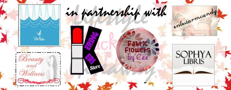 Lucky Partners - Lucky 8 Lifestyle Giveaway Ethel Merioles