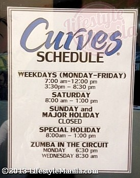 Curves Eastwood Store Hours December 2013