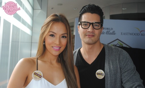 Aubrey Miles Tory Montero Supports Live Healthy at Eastwood City Wellness Campaign