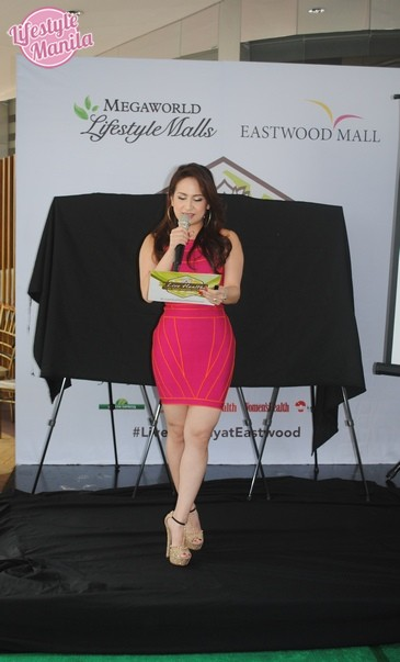 Regine Tolentino hosts Live Healthy at Eastwood City Wellness Launch