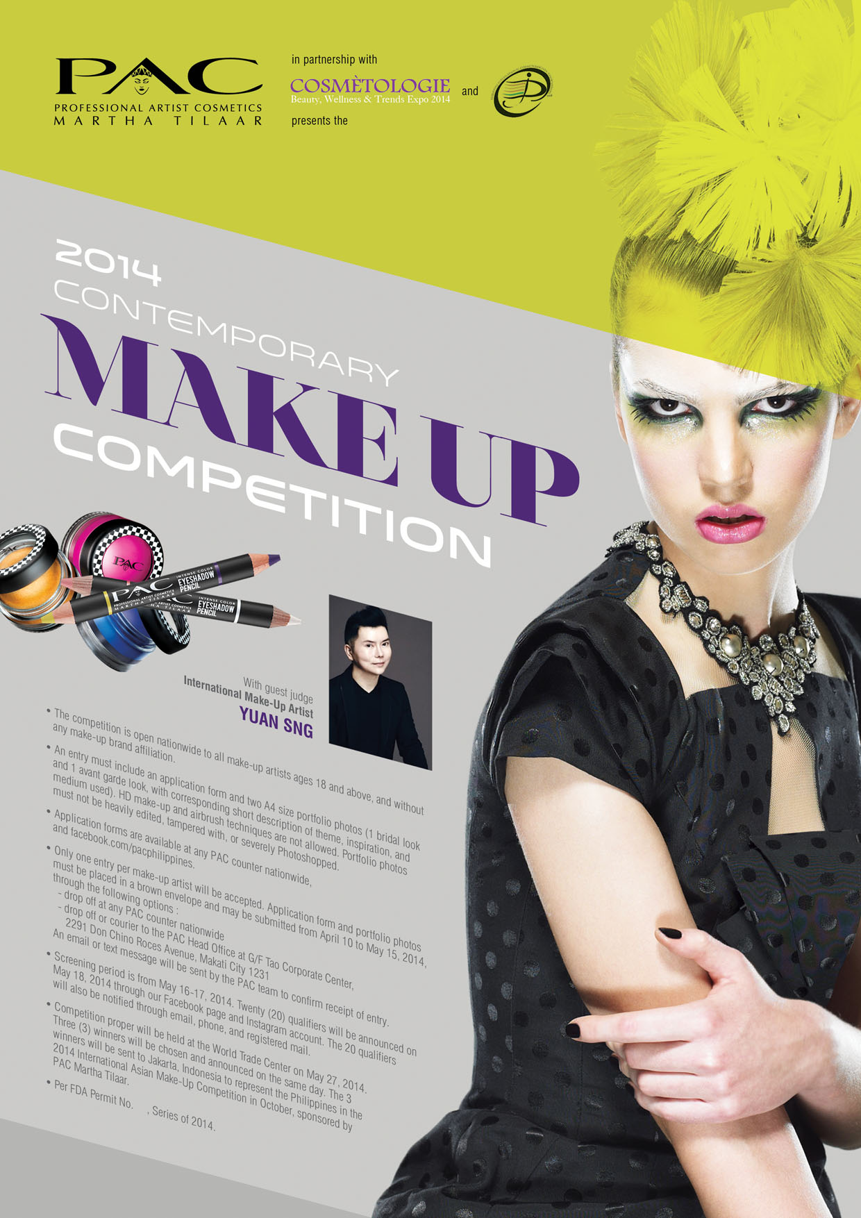 PAC 2104 Make Up Competition