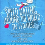 Only in Manila: Speed Dating Around the World!