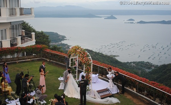 Beautiful June Wedding Tagaytay