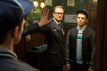 Colin Firth Taron Egerton Kingsman Movie