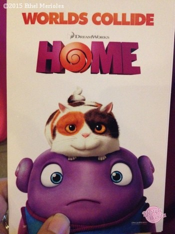 Home 3D Movie in Cinemas March 26