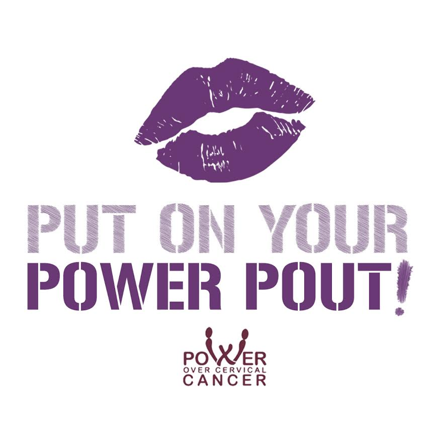 put on your power pout