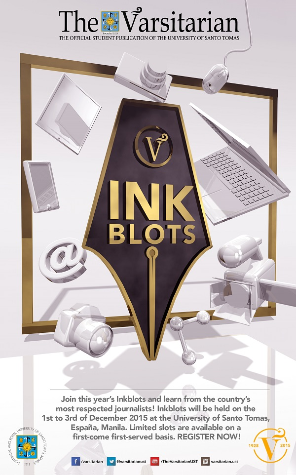 UST Varsitarian to hold 17th Inkblots journalism conference