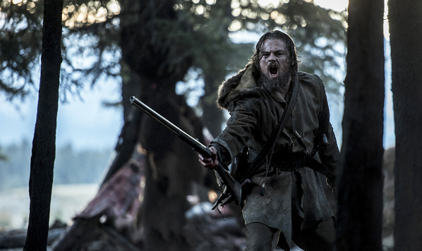 Leonardo DiCaprio stars as Hugh Glass in THE REVENANT