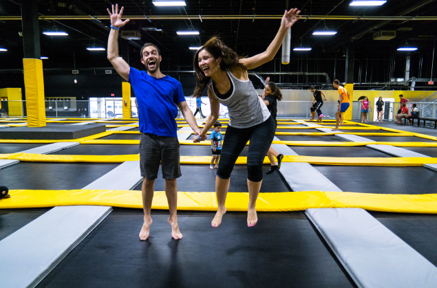 Mark Hodgsen Trampoline Park PH
