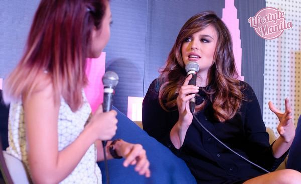 Georgina Wilson at Bloggers Meet and Greet for Maybelline