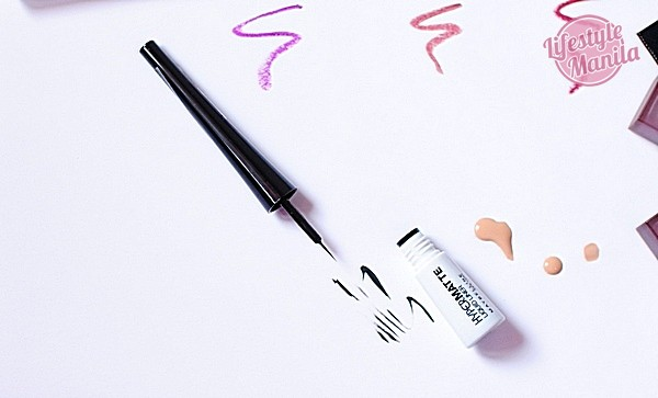 Maybelline HyperMatte Liquid Liner Black Test