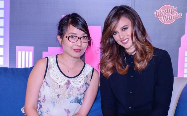 With Maybelline Endorser Georgina Wilson