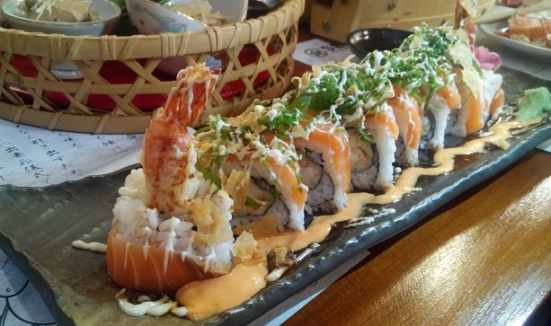 Salmon Lovers Roll