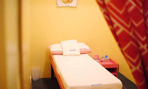 Whipped Private Waxing and Body Scrub Room