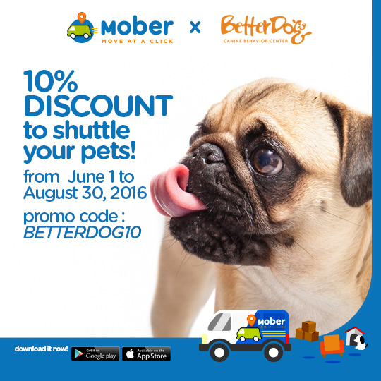 Pet Shuttle Discount - Mober Philippines