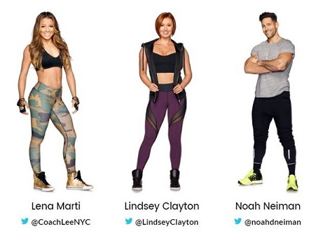 Work Out New York Season 1 Trainers