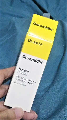 Dr Jart New Ceramidin Serum Box