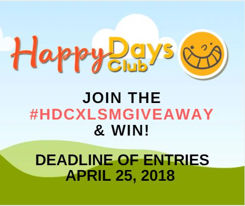 Happy Days Club Giveaway