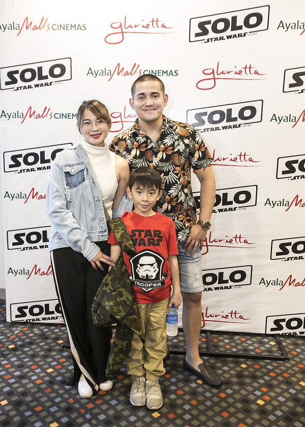 lj reyes, paolo contis in han solo screening