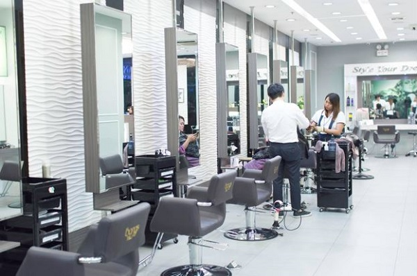 Bangs Prime Salon Marikina Interior