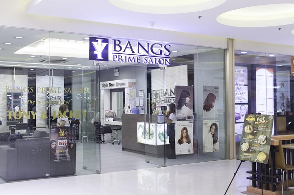 Bangs Prime Salon SM Marikina Branch StoreFront