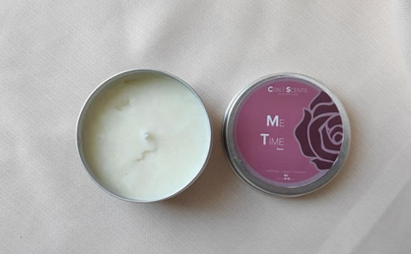 Con Scents Scented Candle Rose